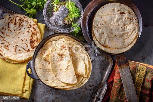 Baked Tortilla