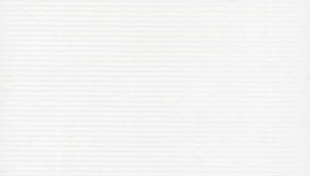 white corrugated cardboard texture background
