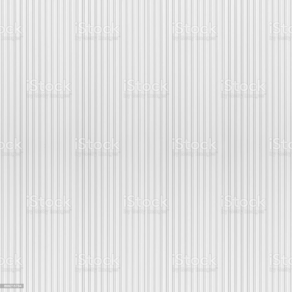 White corrugated metal texture stock photo