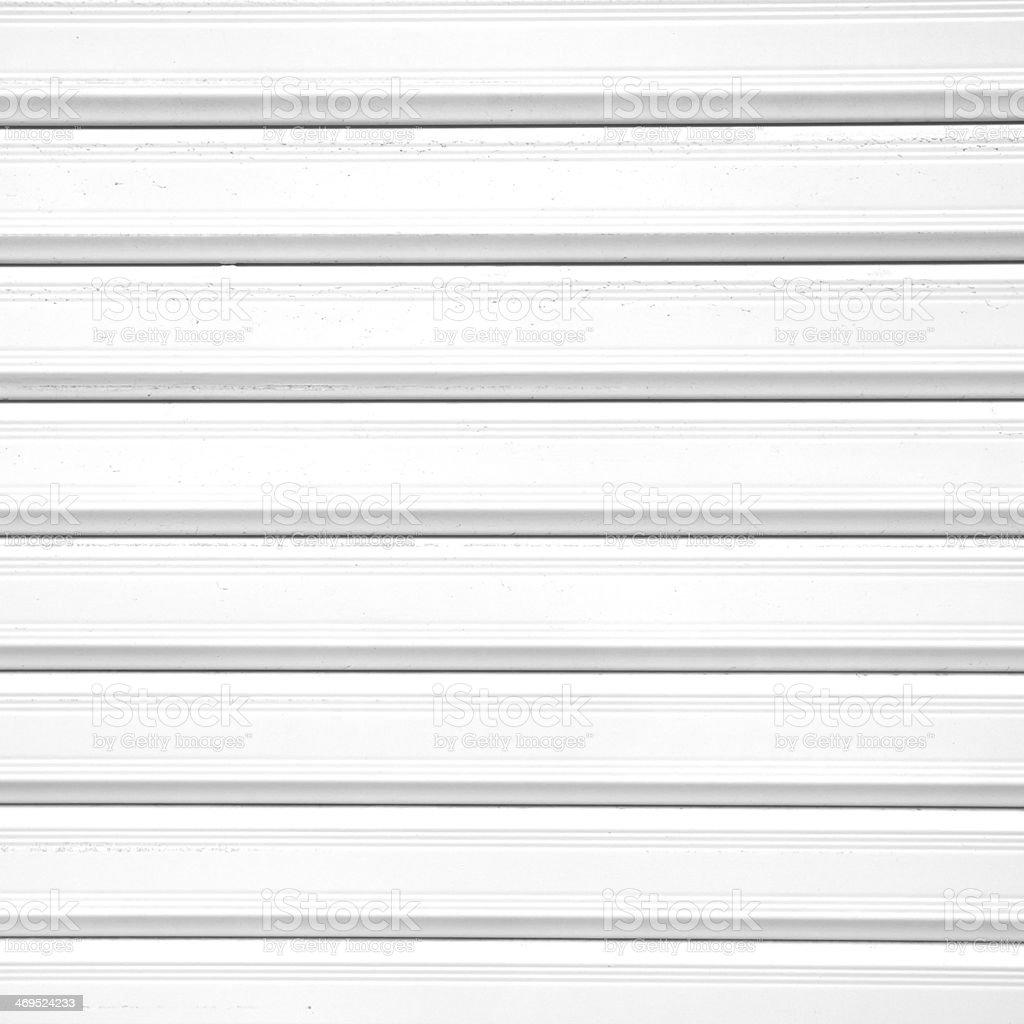 White Sheet Metal : Biały metal tekstury z tektury falistej powierzchni lub