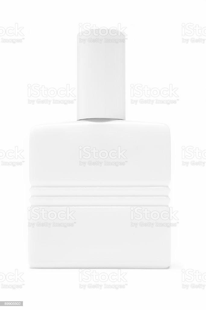 Белый косметические бутылки Стоковые фото Стоковая фотография