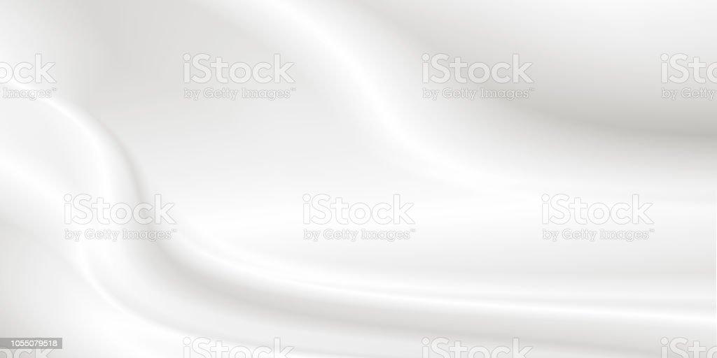 Weiße kosmetische Creme Hintergrund kosmetische lotion – Foto