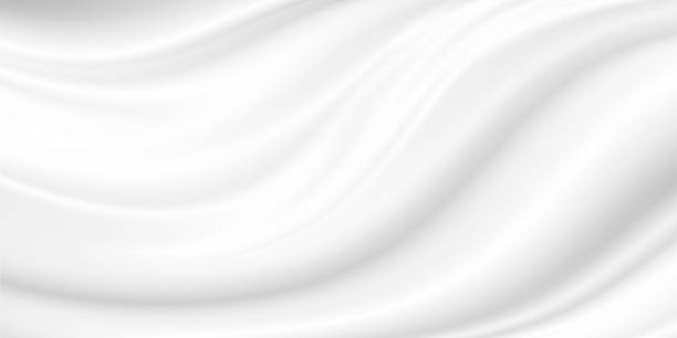 white cosmetic cream background - wave pattern stock pictures, royalty-free photos & images