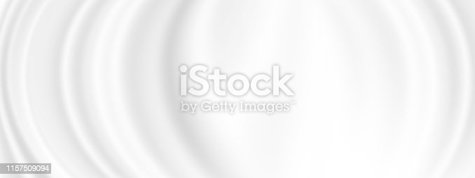 istock White cosmetic cream background with copy space 1157509094