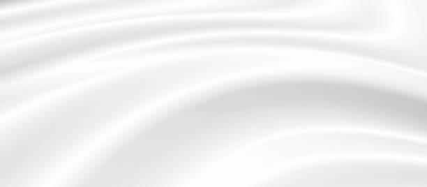 Weißer kosmetischer Creme-Hintergrund mit Kopierraum – Foto