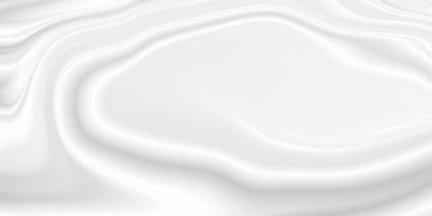 Weiße Kosmetikcreme oder Bodylotion Hintergrund mit Kopierraum – Foto