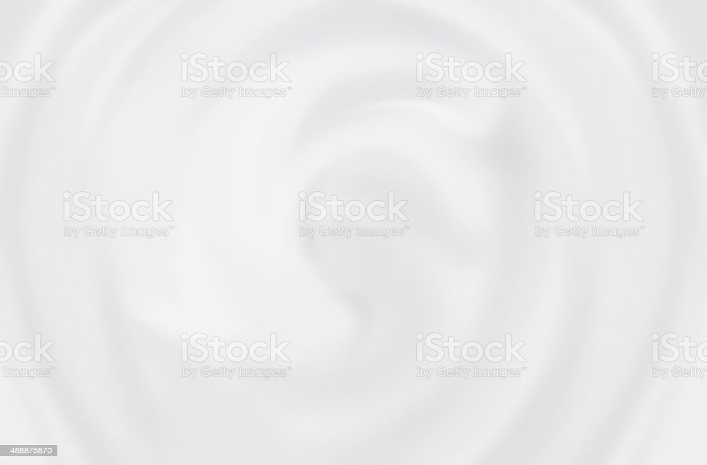 White Cosmetic Cream stock photo