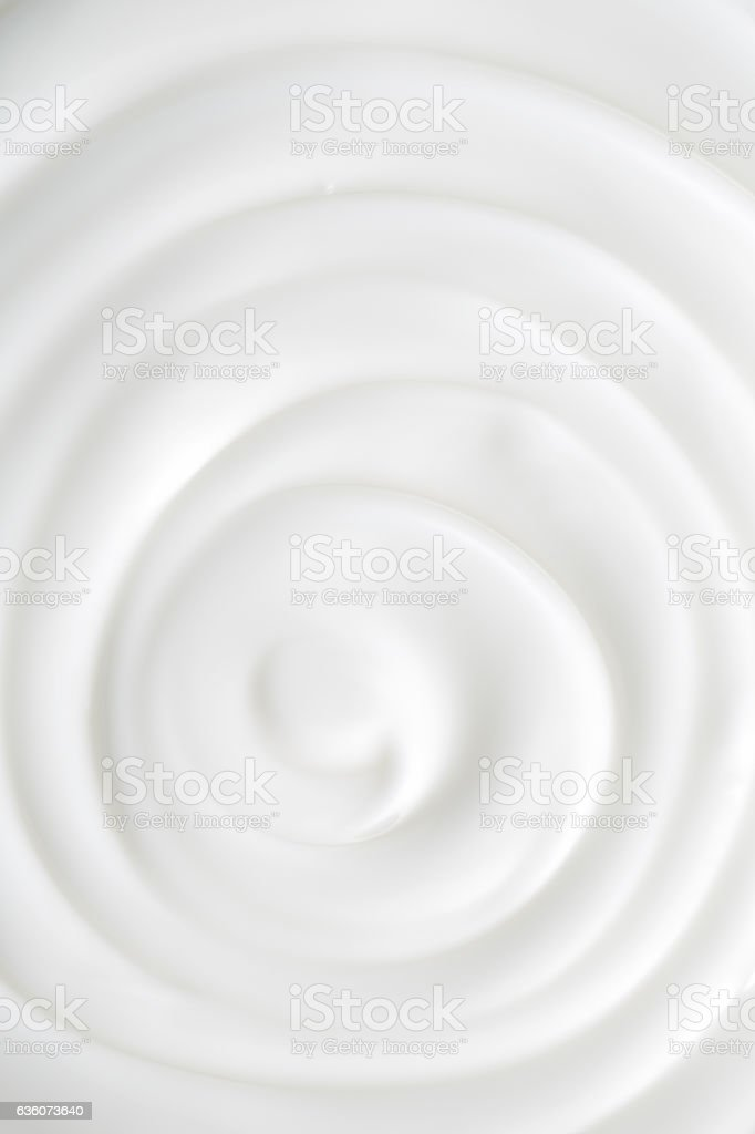White Cosmetic Cream stock photo