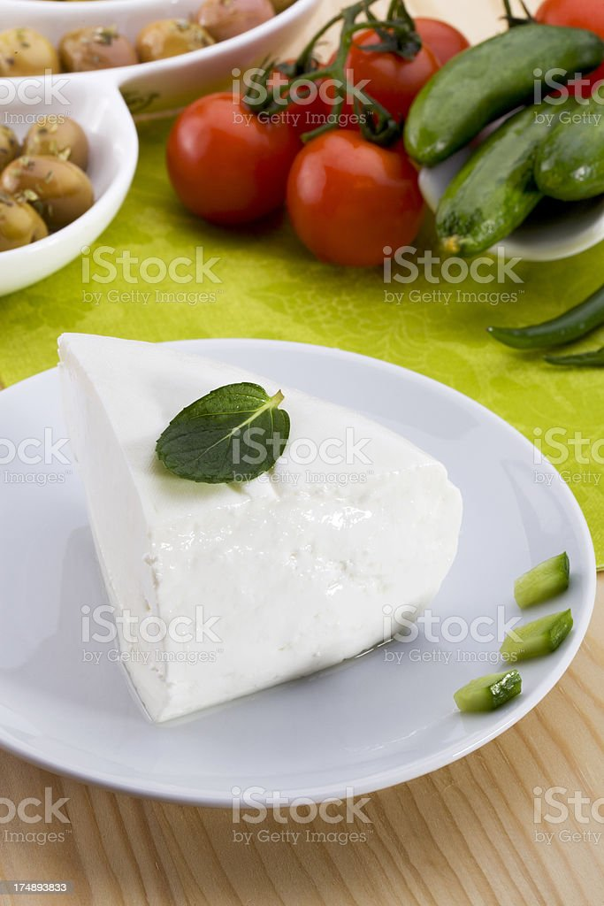 white cottage cheese royalty-free stock photo