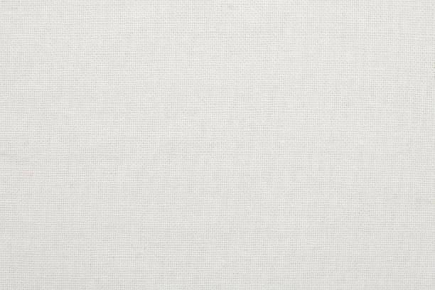weiße baumwolle stoff textilhintergrund, nahtlose muster von naturtextilien. - textilien stock-fotos und bilder