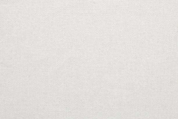 white cotton fabric texture background, seamless pattern of natural textile. - textile stock photos and pictures