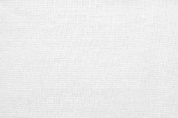 weiße baumwolle stoff textur hintergrund, nahtlose muster von natürlichen textil. - textilien stock-fotos und bilder