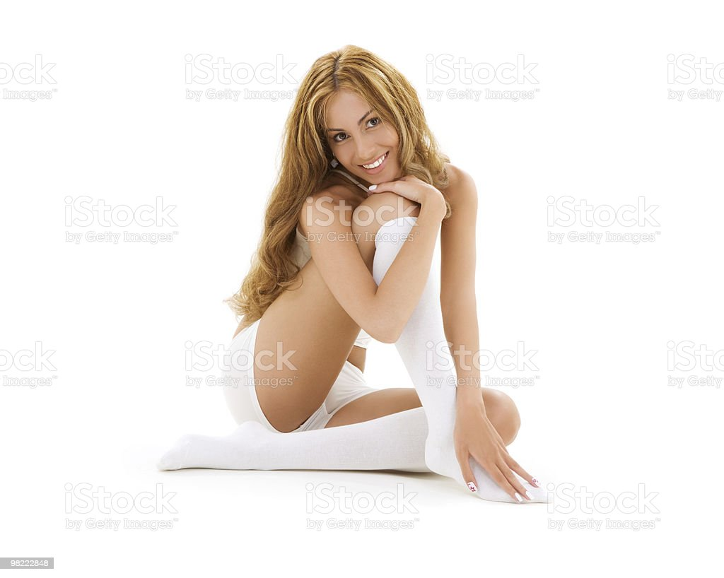 white cotton royalty-free stock photo