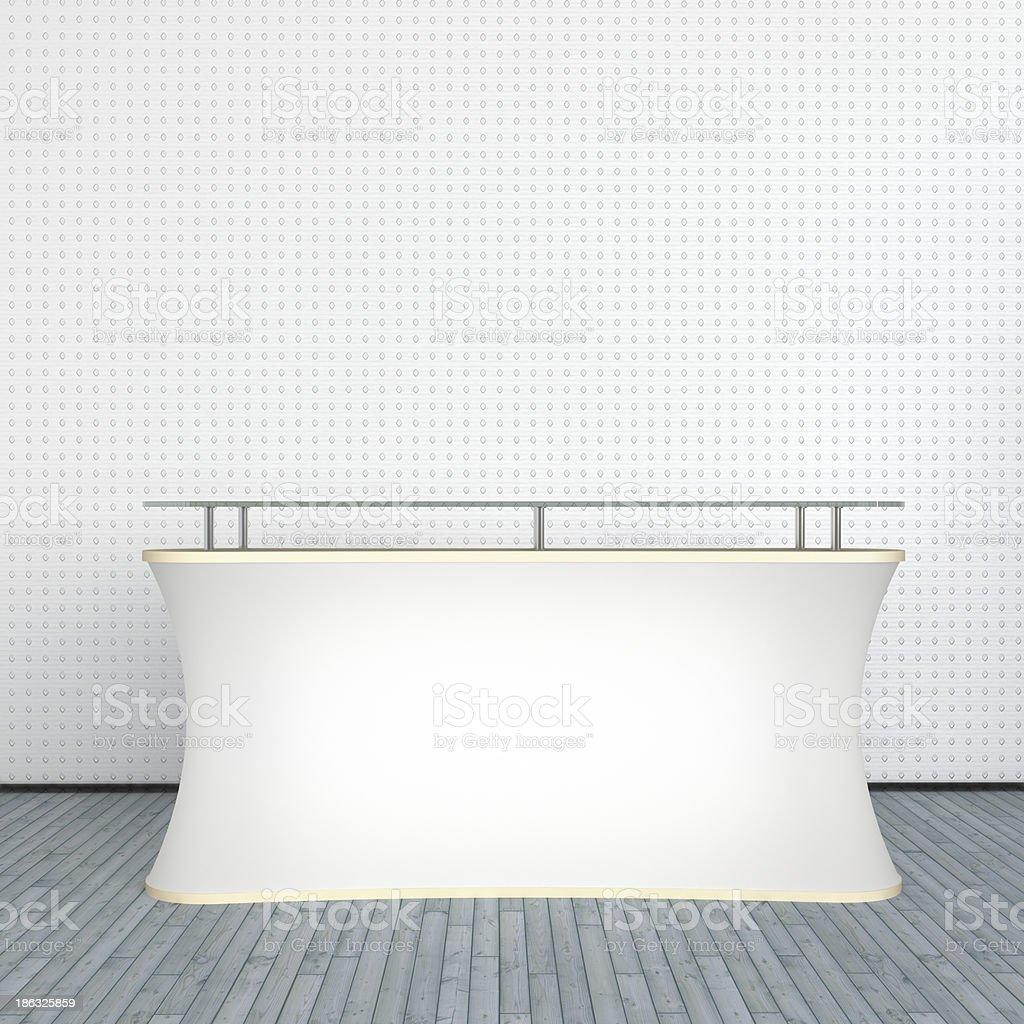 white counter stock photo