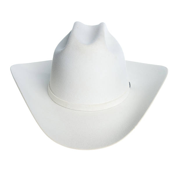 chapeau de cowboy blanc - chapeau de cow boy photos et images de collection