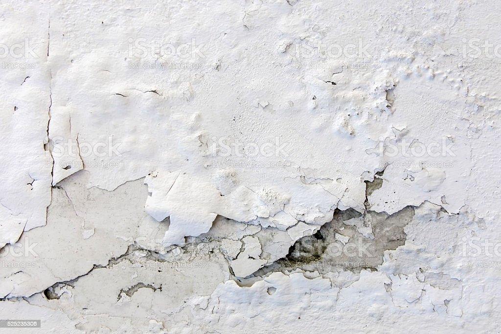 Weiße Gebrochen Verputzen Wand Hintergrund Oder Textur ...