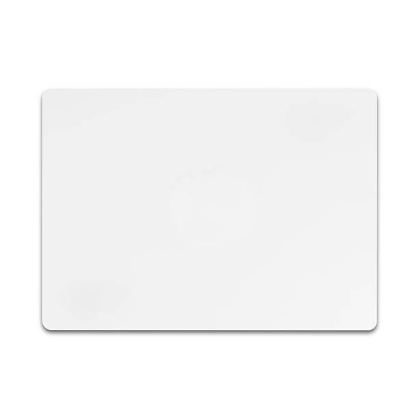 White credit card isolated on white background with clipping pat – Foto