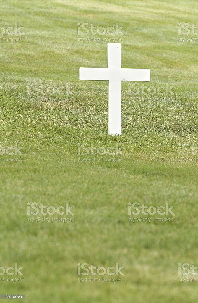 White Cross stock photo