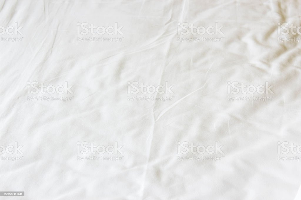 white bed sheet background. White Crumpled Bed Sheet Texture Background Royalty-free Stock Photo