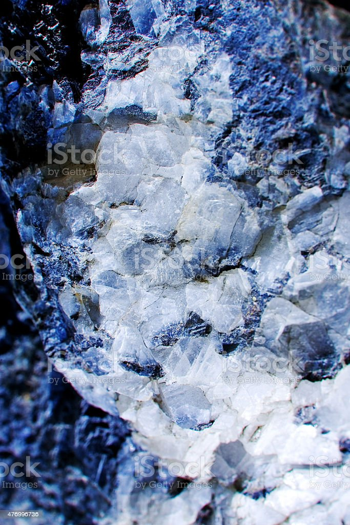 White crystals in the granite stock photo