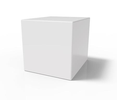 istock White cube 487538650
