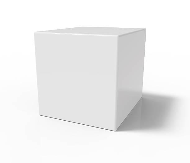 Weiße Würfel – Foto