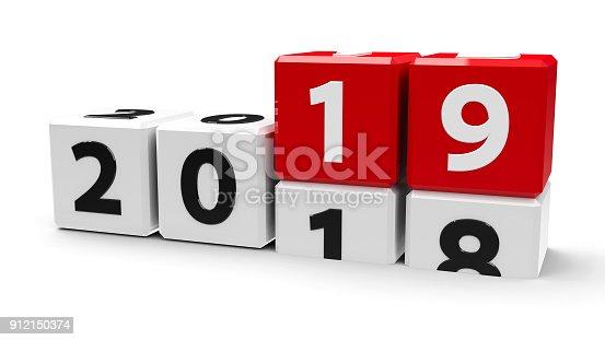 istock White cubes 2019 912150374