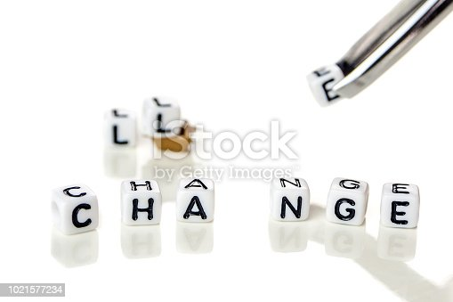 istock White cubes with word challenge creating new word change, personal development and career growth or challenge yourself concept 1021577234