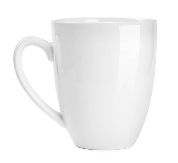 Weiße cup – Foto
