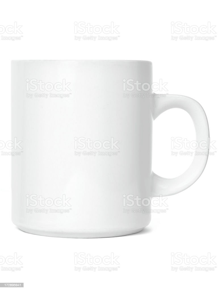 White cup royalty-free stock photo