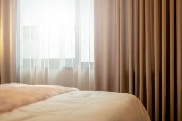 Design für weißer Vorhang – Foto