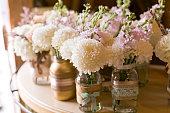 White Dahlia Wedding