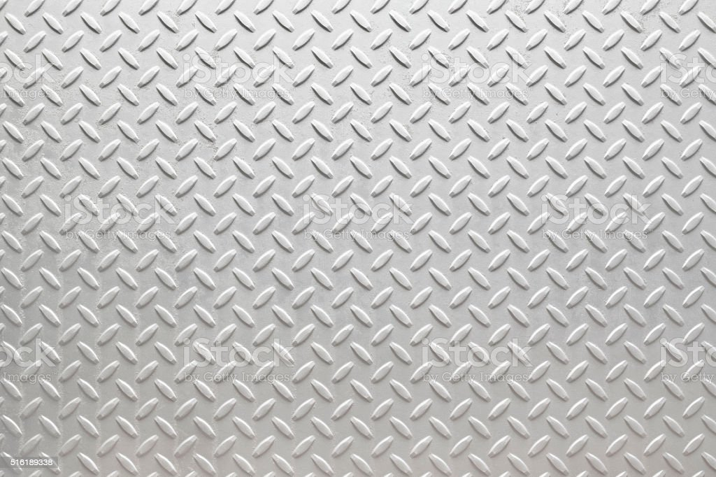 White Diamondplate stock photo