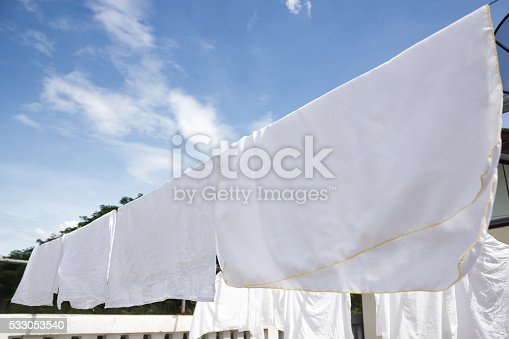 istock White diaper clothes laundry. 533053540