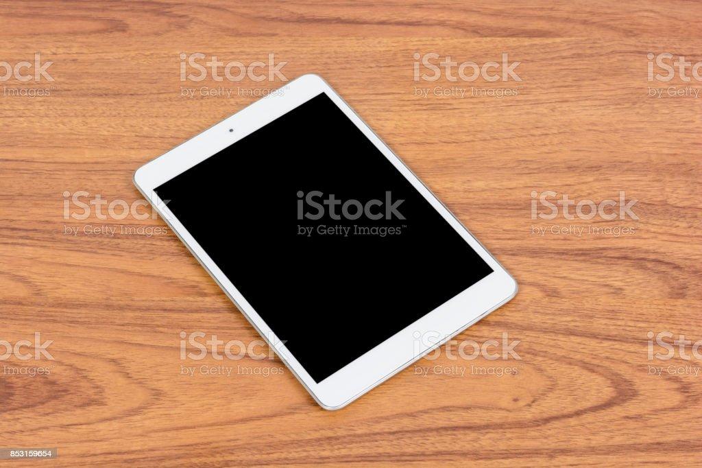 White digital Tablet stock photo