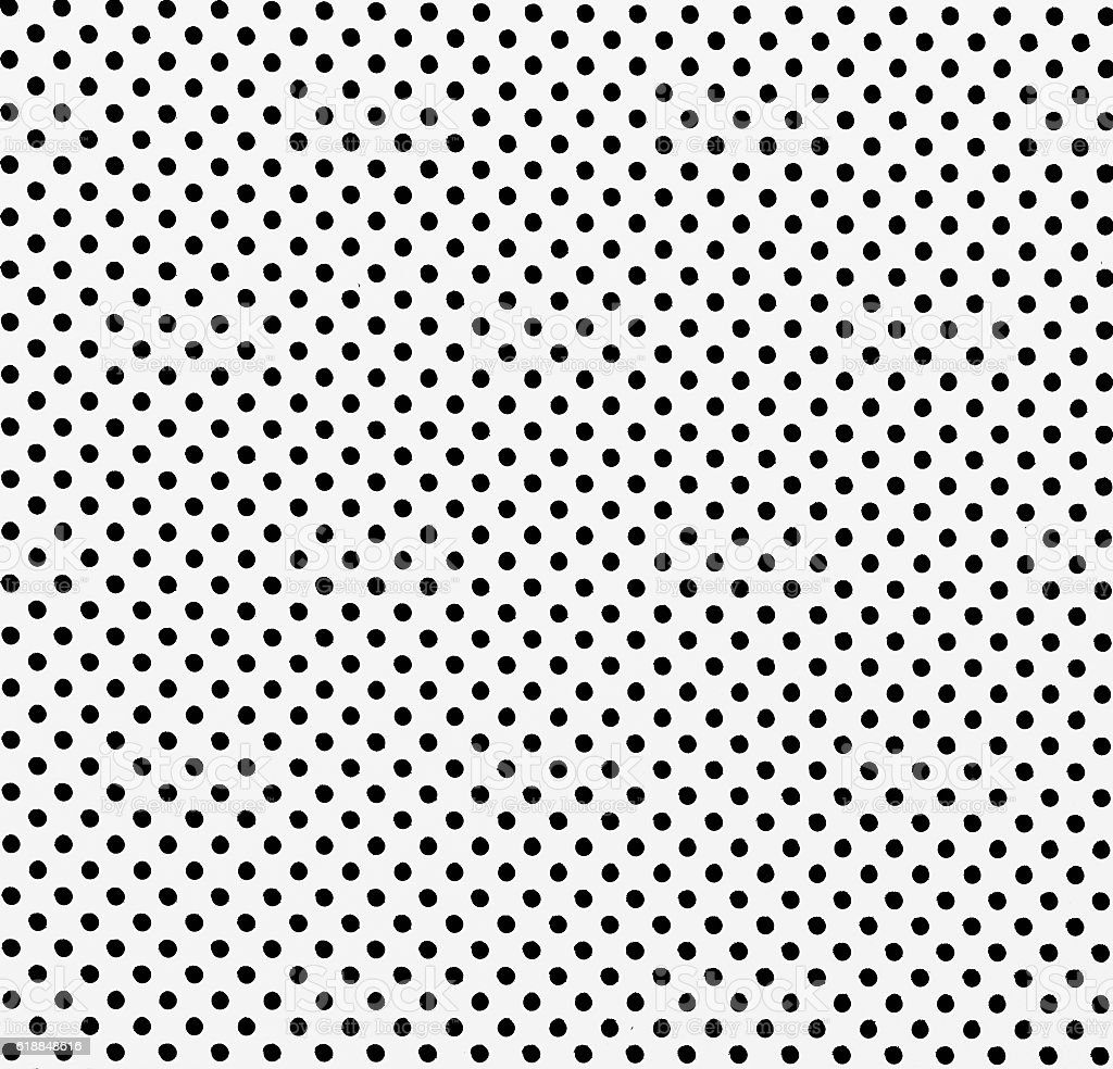 white dot pattern steel partition for background stock photo
