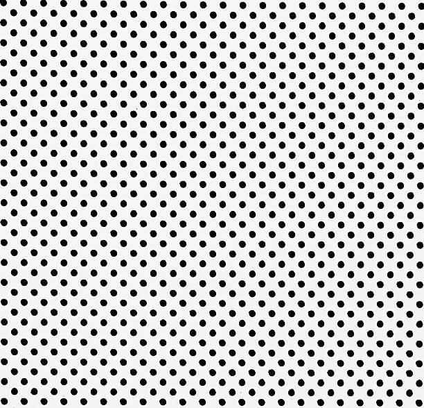 white dot pattern steel partition for background ストックフォト