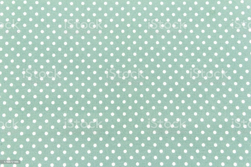 white dots on green royalty-free stock photo