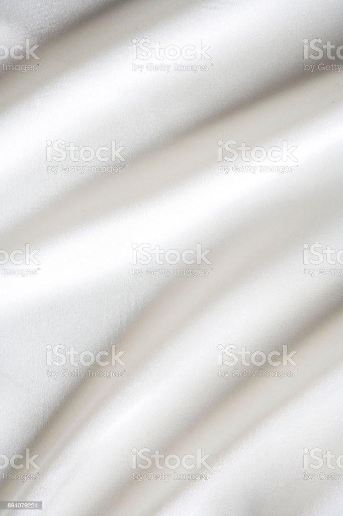 White drape textured background stock photo