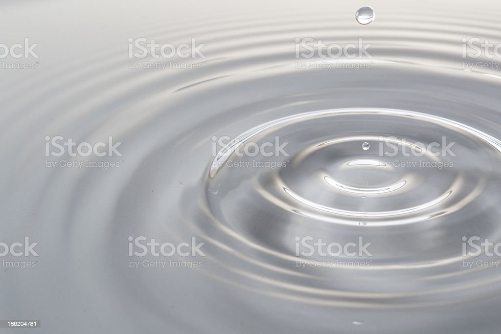 white drop royalty-free stock photo
