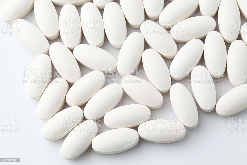 white drugs royalty-free stock photo