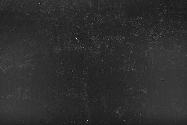 white dust scratches black distressed background stock photo