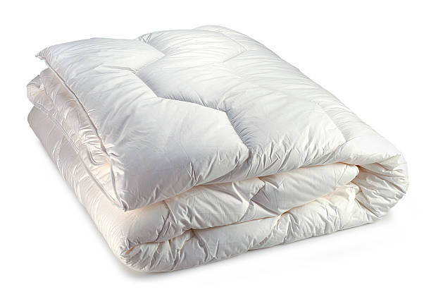 couette blanche  duvet stock pictures, royalty-free photos & images