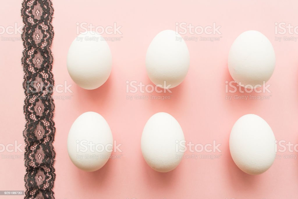 Black Lace Eggs