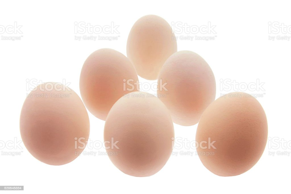 White Eggs stock photo