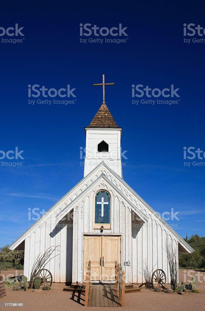 White Elvis Chapel, Superstition Museum, Apache Junction, Arizona royalty-free stock photo