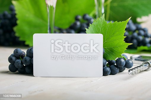 istock White empty business card for your logotype or text 1032866058