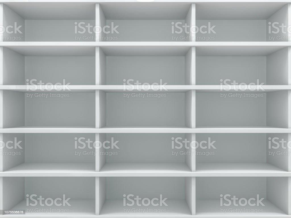 Ajouter Une Étagère Dans Un Placard photo libre de droit de placard vide blanc un placard avec