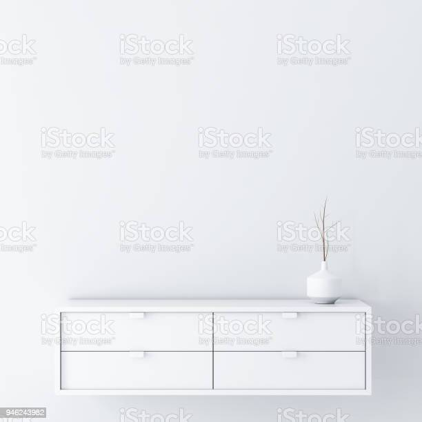 White empty room wall mockup with console and vase decor picture id946243982?b=1&k=6&m=946243982&s=612x612&h=mv37xjy15ida2dvuxbqklhtmjkwsn4gm4amcqx9kwzs=
