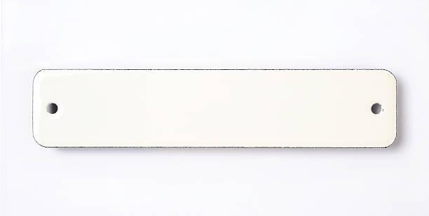 white enamel sign - enamel stock photos and pictures